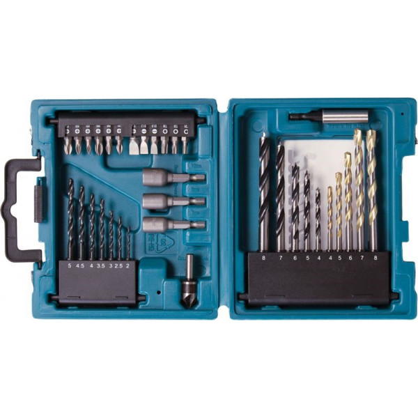34PCS COMBINATION SET MM MAKITA -  D-36980