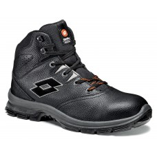 SAFETY SHOE LOTTO SPRINT 101 MID BLACK - S3 SRC - ART. Q8362